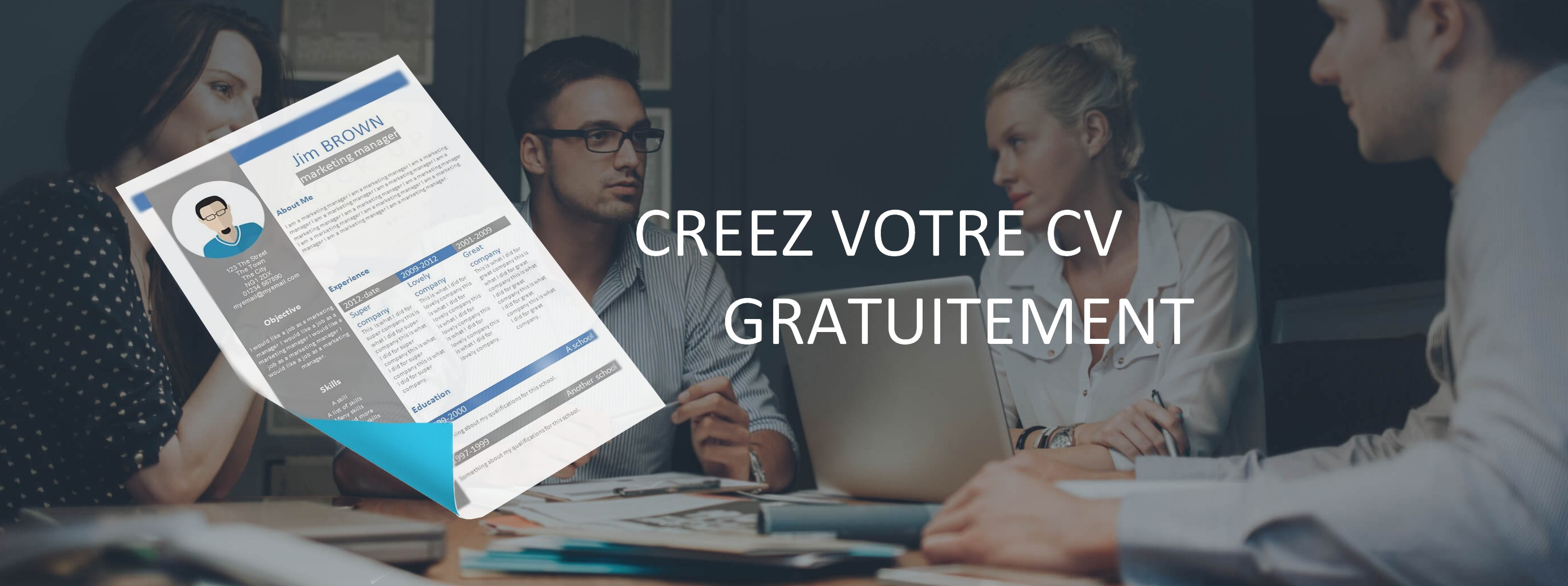 creation de cv en ligne